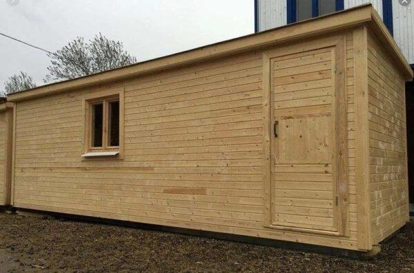 Бытовка домик для дачи 6 метра, цена под ключ